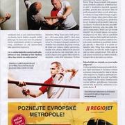 """Časopis """"Přežít""""_Rozhovor se Sifu Lukášem Holubem"""