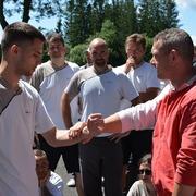 Letní soustředění_Železná Ruda 2021_Sifu Lukáš Holub_žákovské stupně
