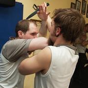 WingTsun seminář v Dejvicích_Sebeobrana s nožem a proti noži