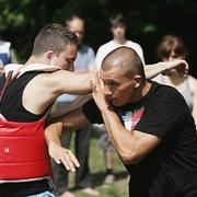 """Letní škola """"Tvrz Holešice"""" -  Sifu Roman Lázeňský a Jiří Schwertner"""